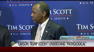 Pathological Carson Trump